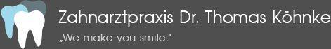 Zahnarztpraxis Dr. med. dent. Thomas Köhnke - Logo